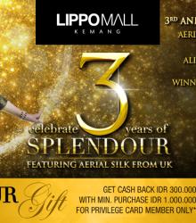 LIppo Mall Kemang 3 Years Splendour