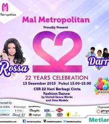 22 Years Celebration Mall Metropolitan
