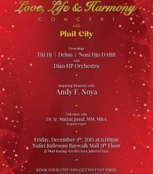 Love Life and Harmony Concert Pluit City
