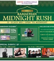 Ramadhan Midnight Rush