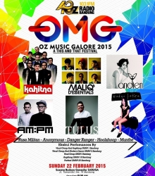 Oz Music Galore 2015